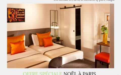 Christmas Special Offer in Paris, Hotel Marais Bastille
