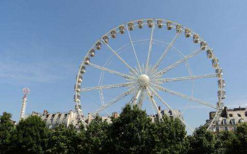 Summer fun that's not to be missed; the Tuileries Funfair