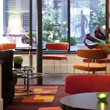 Hôtel Marais Bastille - recepcion